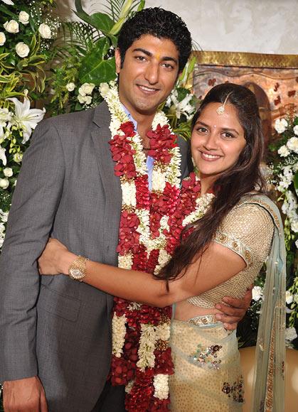 Vaibhav Vora and Ahana Deol