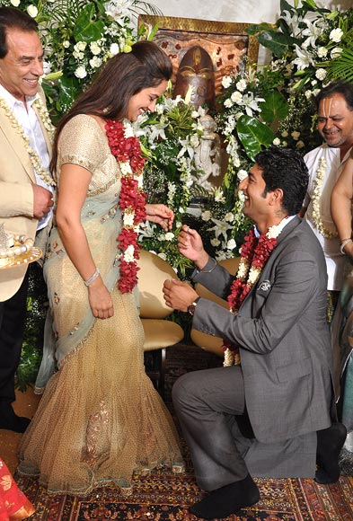 Ahana Deol and Vaibhav Vora