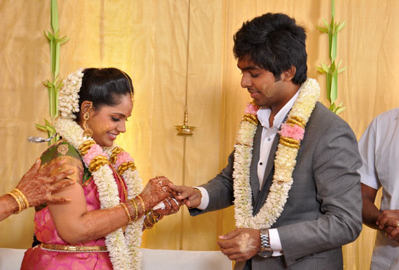 GV Prakash Kumar and Saindhavi
