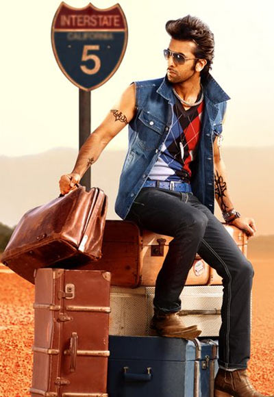 Ranbir Kapoor in a John Players ad