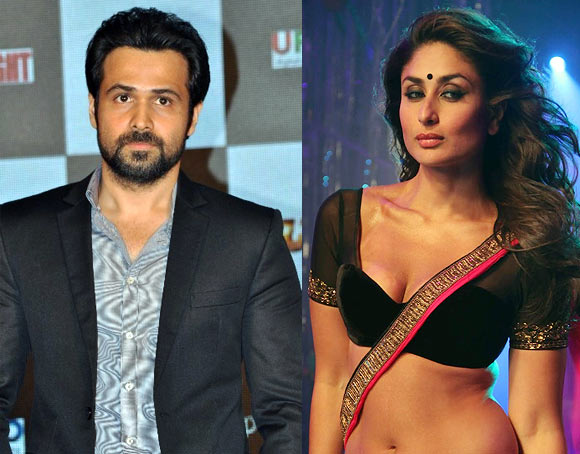 Emraan Hashmi and Kareena Kapoor