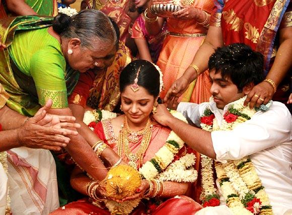 GV Prakash Kumar and Saindhavi