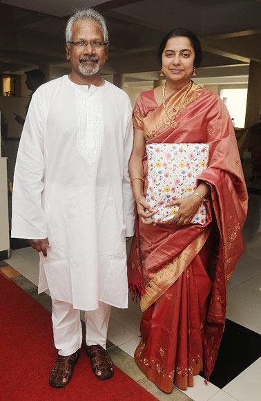 Mani Ratnam and Suhasini