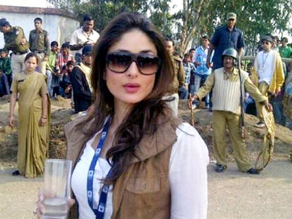 Kareena Kapoor in Satyagraha