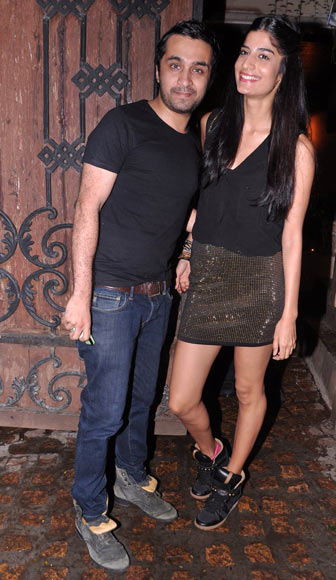 Siddhanth Kapoor and Erika Packard