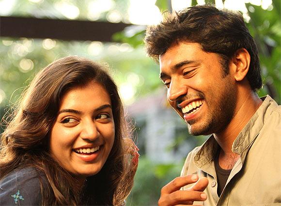 Nazriya Nazim and Navin Paul