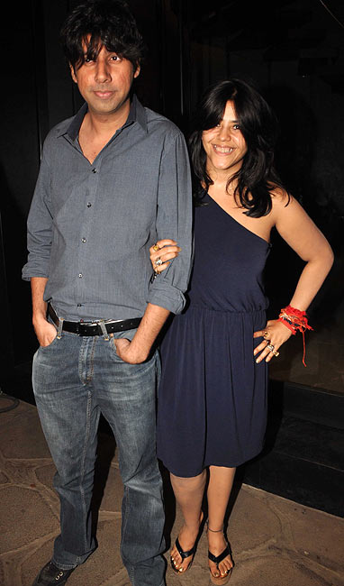 Tanveer Bookwala and Ekta Kapoor