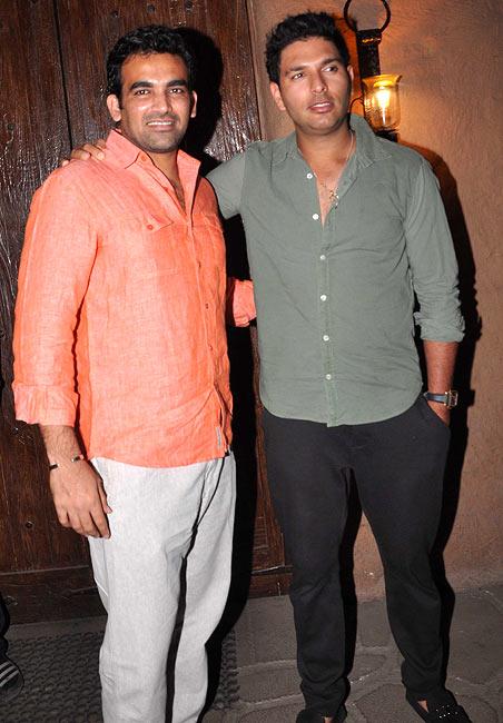 Zaheer Khan and Yuvraj Singh