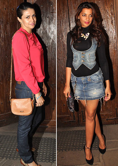 Gul Panag and Mugdha Godse