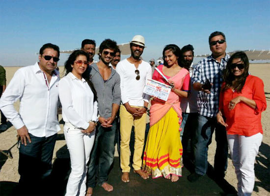 The Rambo Rajkumar team