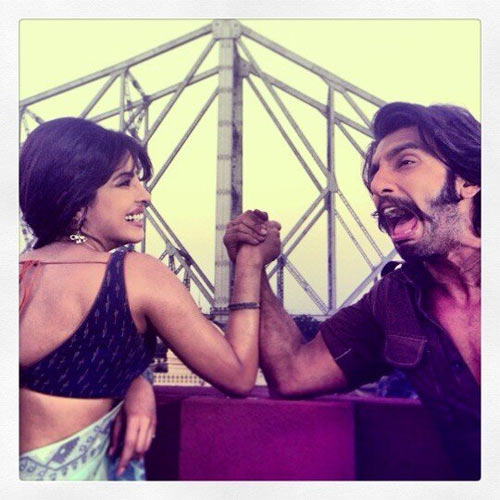 Priyanka Chopra and Ranveer Singh