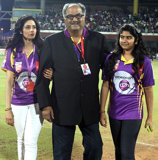 Sridevi, Boney Kapoor, Kushi