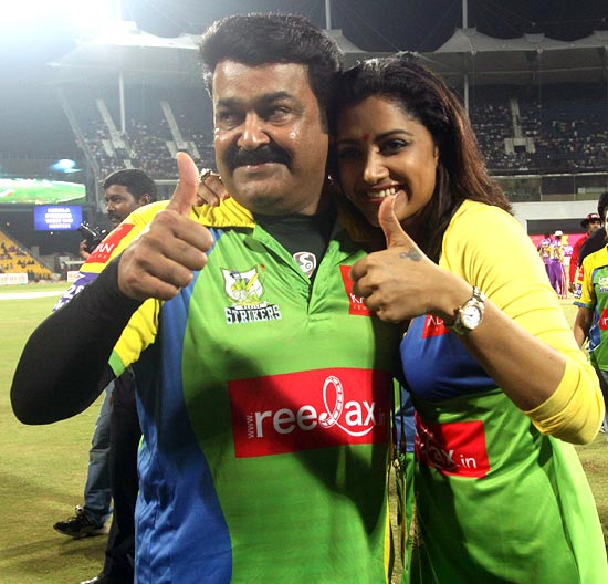 Mohanlal and Mamta Mohandas