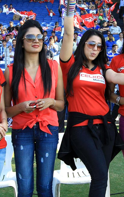 Vimala Raman and Charmy