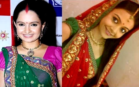 Giaa Manek and Devoleena Bhattacharjee as Gopi bahu