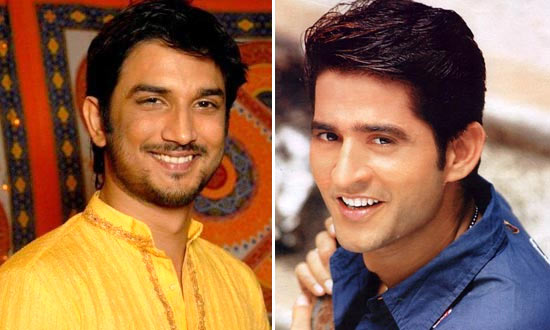 Sushant SIngh Rajput and Hiten Tejwani as Manav