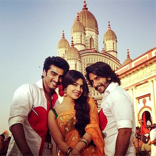 Arjun Kapoor, Priyanka Chopra and Ranveer Singh