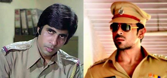Amitabh Bachchan in Zanjeer, Ram Charan Teja