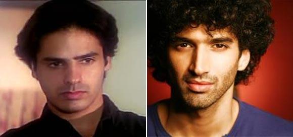 Rohit Roy in Aashiqui, Aditya Roy Kapur