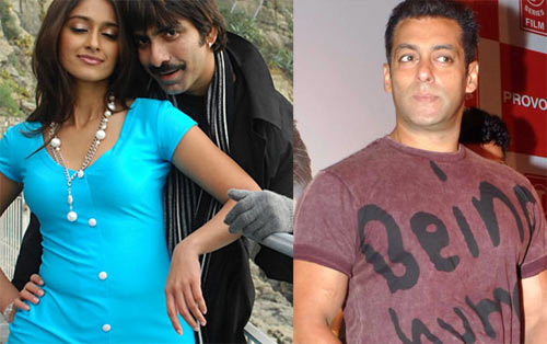 A scene from Kick, Salman Khan