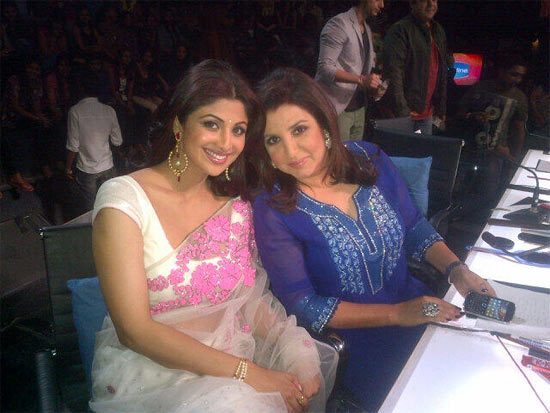 Shilpa Shetty and Farah Khan