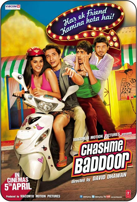 Movie poster of Chashme Buddoor