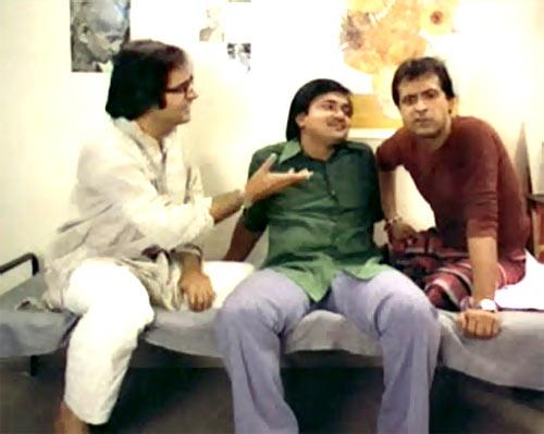 Farooq Shaikh, Rakesh Bedi and Ravi Baswani in Chashme Buddoor