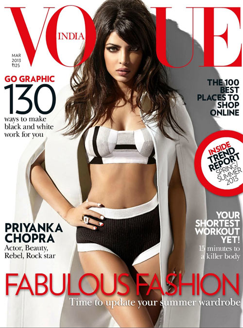 Priyanka Chopra, Vogue