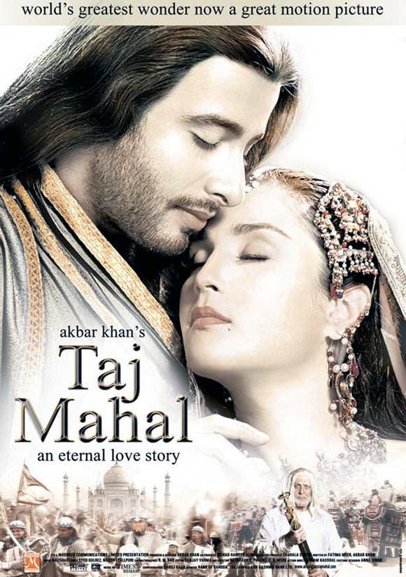 Movie poster of Taj Mahal: An Eternal Love Story