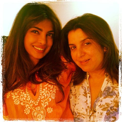 Priyanka Chopra and Farah Khan