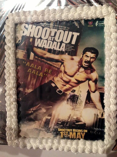 The Shootout At Wadala cake