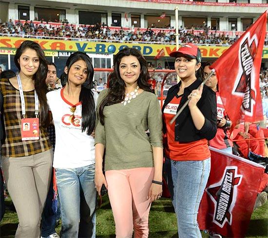 Lakshmi Rai, Priyamani, Kajal Aggarwal, Charmy Kaur