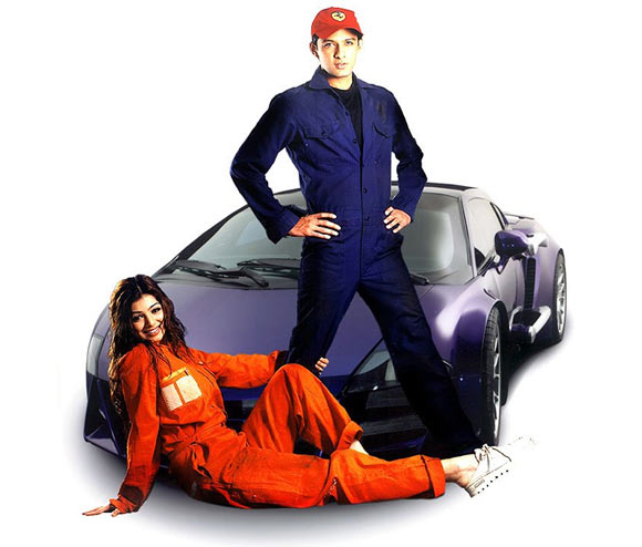 Vatsal Seth and Ayesha Takia in Taarzan: The Wonder Car