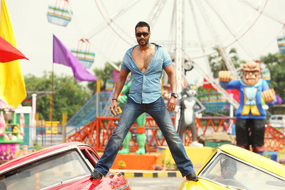 Ajay Devgn in Golmaal Returns