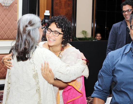 Jaya Bachchan and Kiran Rao
