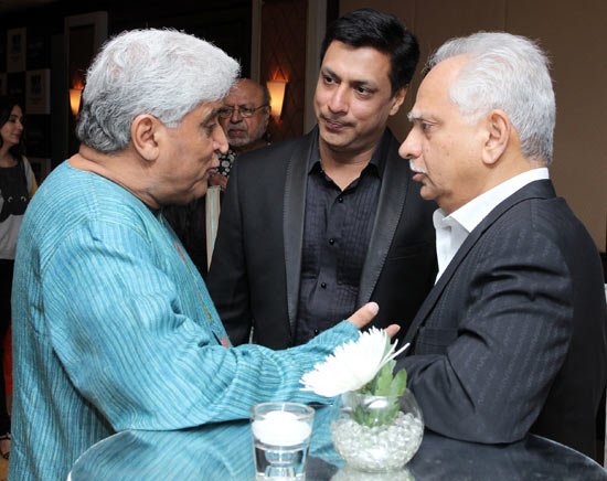 Javed Akhtar, Madhur Bhandarkar and Ramesh Sippy