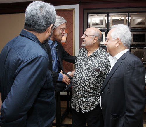 R Balki, Sudhir Mishra, Shyam Benegal and Ramesh Sippy
