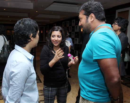 Reema Kagti, Zoya Akhtar and Anurag Kashyap