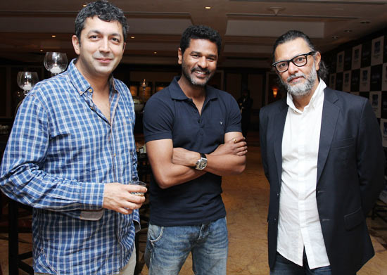 Kunal Kohli, Prabhu Deva and Rakeysh Omprakash Mehra
