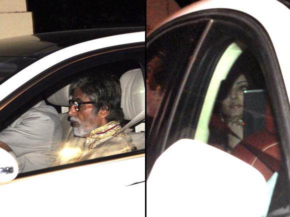 Amitabh and Aishwarya Rai Bachchan