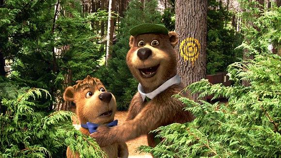 A scene from Yogi Bear