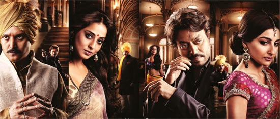 Jimmy Shergill, Mahie Gill, Irrfan Khan and Soha Ali Khan in Saheb Biwi Aur Gangster Returns