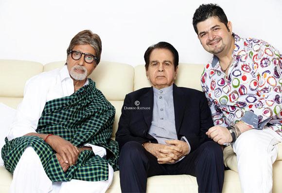 Amitabh Bachchan, Dilip Kumar, Dabboo Ratnani