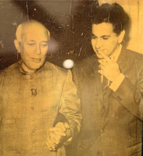 Jawaharlal Nehru and Dilip Kumar