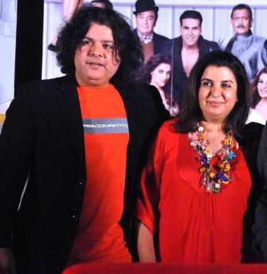 Sajid and Farah Khan