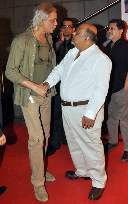 Sudhir Mishra, Subhash Kapoor and Saurabh Shukla