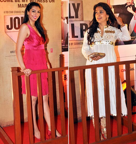 Yukta Mookhey and Juhi Chawla