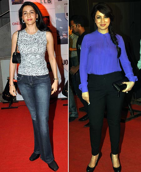 Priya Gill and Tisca Chopra
