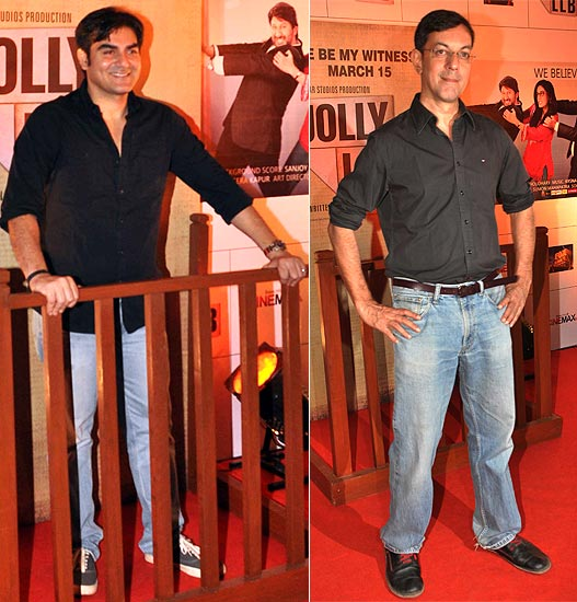Arbaaz Khan and Rajat Kapoor