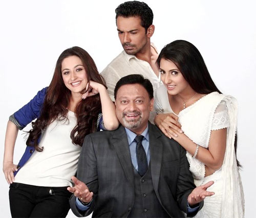 Sanjeeda Sheikh, Abhinav Shukla, Additi Gupta and Kiran Karmarkar